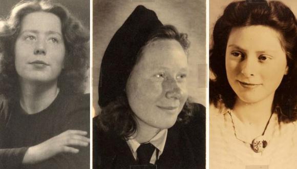 Hannie Schaft y las hermanas Truus y Freddie Oversteegen eran unas adolescentes cuando los nazis ocuparon su país. (Noord-Hollands Archief)