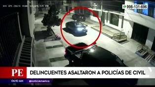 Los Olivos: delincuentes huyen tras intentar asaltar a policías vestidos de civil