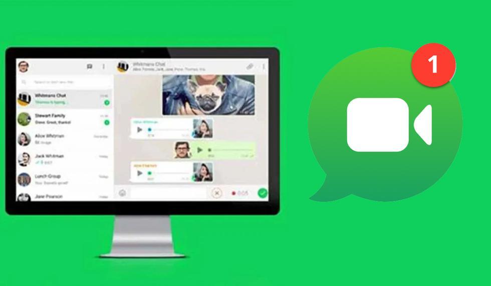 FOTO 1 DE 3 | Conoce el método para poder realizar videollamadas desde WhatsApp Web | Foto: WhatsApp (Desliza a la izquierda para ver más fotos)