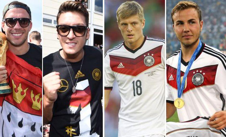 La despedida en Twitter a Klose de los campeones mundiales