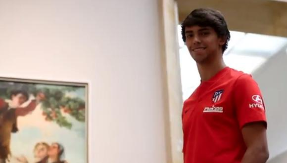 Joao Felix jugará en el Atlético de Madrid desde esta temporada. (Captura: @Atleti)