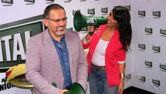 Beto Ortiz y Carla García conducirán juntos un programa radial