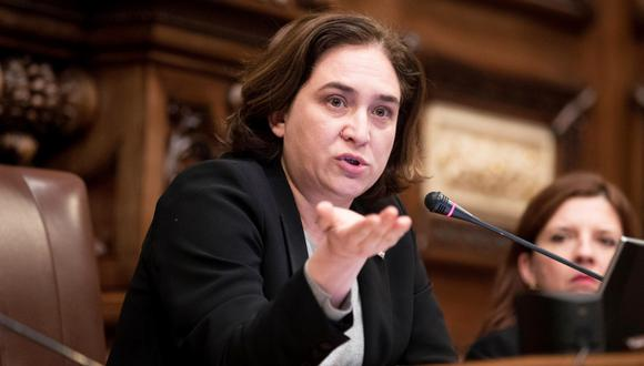 La alcaldesa de Barcelona, Ada Colau. (Foto: EFE/Marta Pérez)