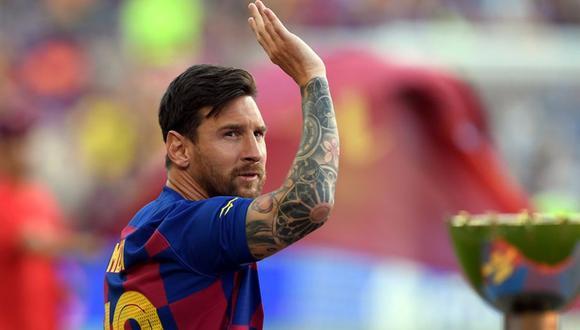 Lionel Messi ahora podría evaluar aceptar quedarse por un año más en el Barcelona. (Foto: Agencias).