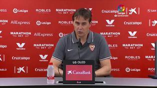 "Lopetegui: ""Nos faltó el premio de un segundo gol"""