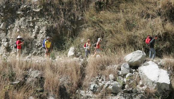 Invocan a turistas no usar vía alterna a Machu Picchu