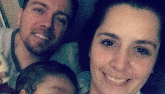 Yiddá Eslava y Julián Zucchi revelan que que duermen con su hijo de tres años. (Foto: Instagram)