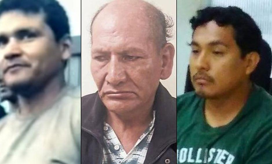 Pedro Pablo Nakada, Domingo Norabuena y Huber Chacara Castro han protagonizado una serie de crímenes que aterrorizaron Lima.