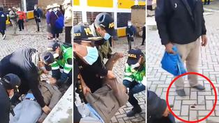 Elecciones 2021: Anciano sufre desmayo mientras esperaba en la fila para votar