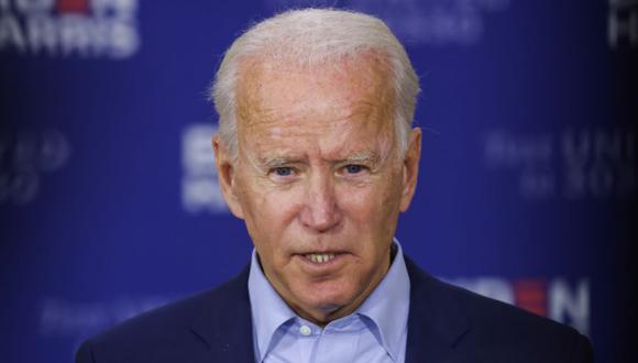 Joe Biden durante un evento de campaña en el Centro de capacitación Jerry Alander Carpenter en Hermantown, un suburbio de Duluth, Minnesota, EE. UU. (Foto: REUTERS / Jonathan Ernst).