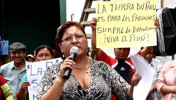 Municipalidad de Lima: Ida Ávila fue retirada en forma pacífica