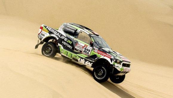 Este es el tercer Dakar en el que participa Nicolás Fuchs (Foto: Itea)