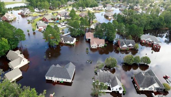 Las Carolinas continúan recuperándose de los daños causados por Florence. | Foto: Reuters