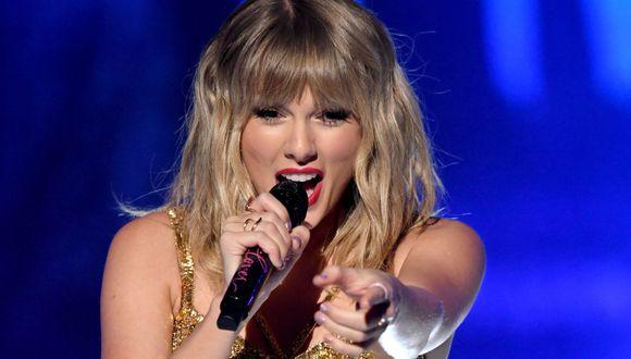 Taylor Swift superó a Michael Jackson y se consagró como la artista con más premios en los AMAS American Music Awards (Foto: AFP)