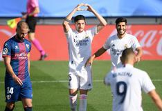 """Federico Valverde, tras anotar frente al Huesca: """"Hemos demostrado que estamos muy bien"""""""