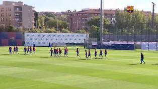 El Barcelona se prepara para el partido más importante de LaLiga