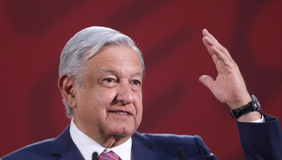 Las autoridades sanitarias de México elevaron a ocho el número de muertes por COVID-19 con 585 contagios acumulados y 110 casos nuevos, equivalentes al 23 % durante la última jornada. En la imagen, el presidente Andrés Manuel López Obrador. (EFE).