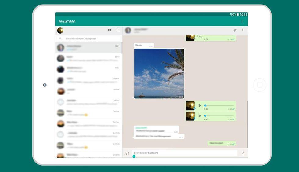 Usar WhatsApp en una Tablet u otro dispositivo (Foto: WhatsAppWeb)