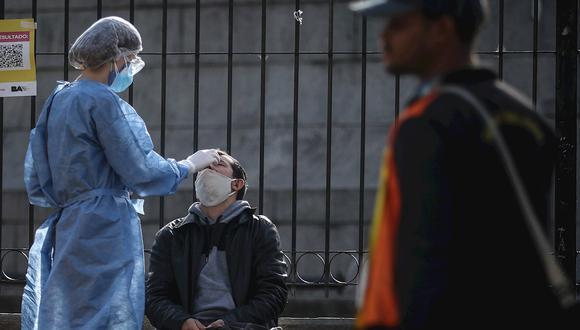 Coronavirus en Argentina | Últimas noticias | Último minuto: reporte de infectados y muertos hoy, miércoles 23 de junio del 2021 | Covid-19 | (Foto: Juan Ignacio Roncoroni / EFE)