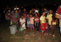 Madre de Dios: así fue el traslado de comunidad nativa tras enfrentamiento con nativos no contactados