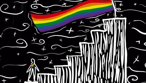 """""""La lucha por los derechos de la comunidad LGTBI es una que debería importar a todos los que creemos en un mundo más justo"""". (Ilustración: Giovanni Tazza)"""