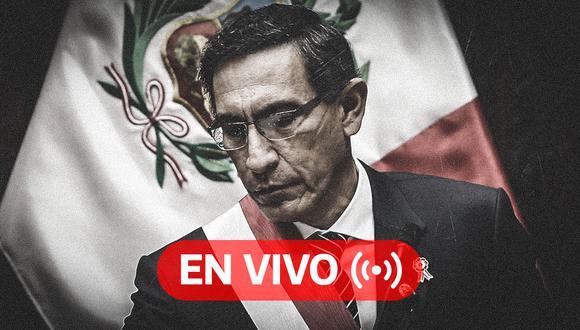 EN VIVO | Martín Vizcarra: Últimas noticias tras los audios filtrados. Sigue el minuto a minuto de todo lo que tiene que ver con el caso Richard Swing. (Foto: Diseño El Comercio)