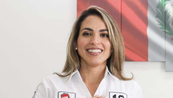 Rabasa Barboza es candidata con el número 10 por la lista parlamentaria de Victoria Nacional para Lima Metropolitana. (Foto: Difusión)