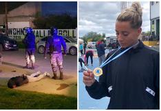 Evangelina Thomas, la campeona argentina de atletismo que persiguió y atrapó al ladrón que entró a robar a su casa