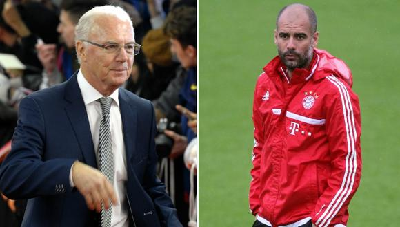 "Beckenbauer critica a Guardiola: ""El Bayern no es Barcelona"""
