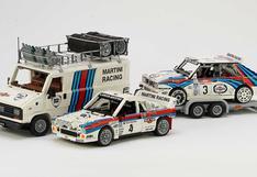 Lancia Martini: el equipo de rally llega al mundo de Lego | FOTOS