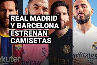 Conoce todo sobre las nuevas camisetas que Real Madrid y Barcelona vestirán la próxima temporada