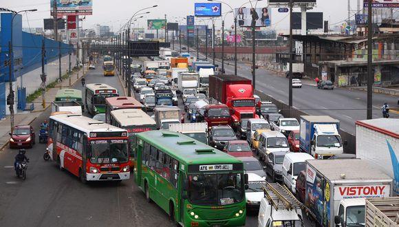 Un total de 83 empresas de transporte de Lima y Callao suspenderán sus servicios este jueves 28 de mayo. (Foto: Hugo Curotto/GEC)