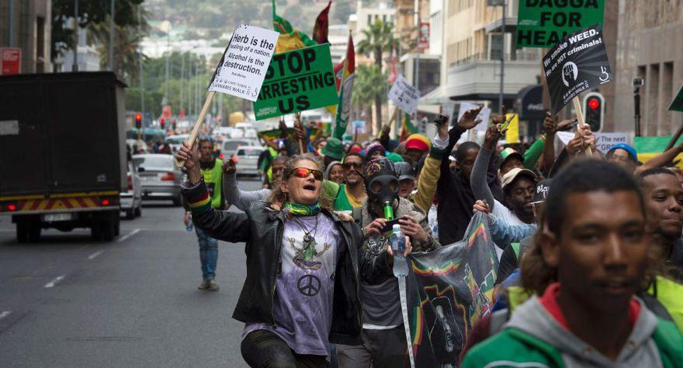 Miles en el mundo marchan por la marihuana [FOTOS] - 8