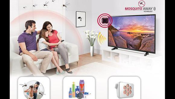 LG crea un televisor con tecnología para repeler mosquitos