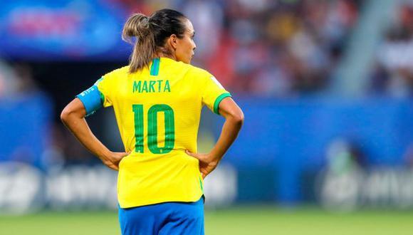 Marta Vieira está jugando si quinto Mundial Femenino. (Foto: AP)