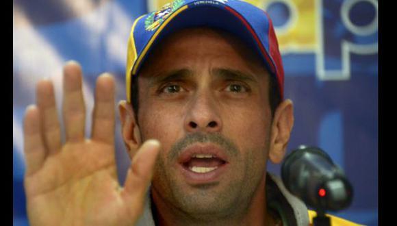 Venezuela: Chavismo demanda a líder opositor Henrique Capriles