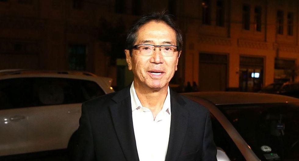 Jaime Yoshiyama era candidato a la vicepresidencia en la campaña de Keiko Fujimori del 2011. (Foto: USI)