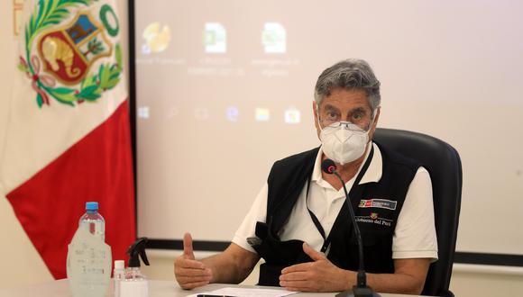 Francisco Sagasti deberá brindar su declaración sobre lo dicho por su excanciller Elizabeth Astete. (Foto: Presidencia del Perú)