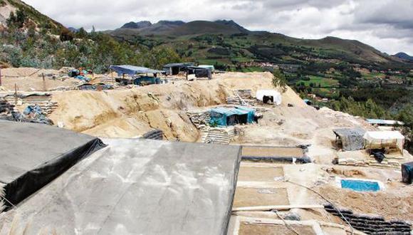 El cerro El Toro, en Huamachuco, es el lugar de mayor extracción ilegal de minerales en La Libertad (Foto: Johnny Aurazo)