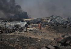 Afganistán: al menos 100 camiones cisterna destruidos en incendio en la frontera con Irán