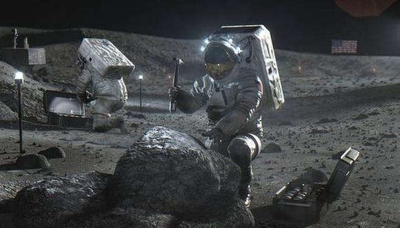 La NASA se prepara para explotar los recursos de la Luna. (Foto: NASA)