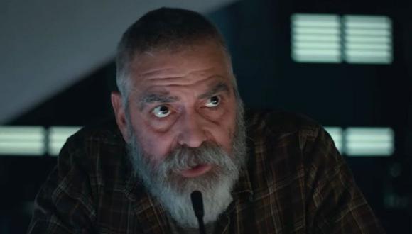 """Augustine Lofthouse, el personaje de George Clooney, sobrevivió al 'Evento' pesar de tener una enfermedad terminal en """"Cielo de medianoche"""" (Foto: Netflix)"""