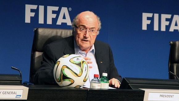 Blatter condenó los incidentes violentos del Serbia vs. Albania