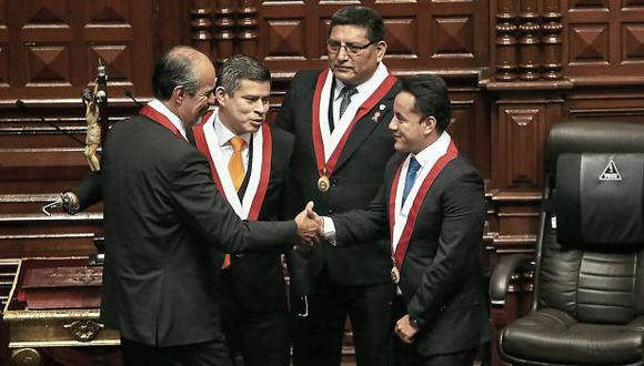 La Mesa Directiva que preside Luis Galarreta culminará sus funciones en julio próximo. Aún no se define quiénes tomarán la posta. (Foto: Anthony Niño de Guzmán/El Comercio)