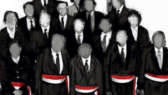 """""""En el Perú no hay gabinetes. Es decir, la figura existe formalmente pero, en la práctica, la dinámica es mucho más fragmentada"""". (Ilustración: Giovanni Tazza)"""