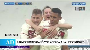 Universitario venció a Binacional y se ilusiona con clasificar a la Copa Libertadores