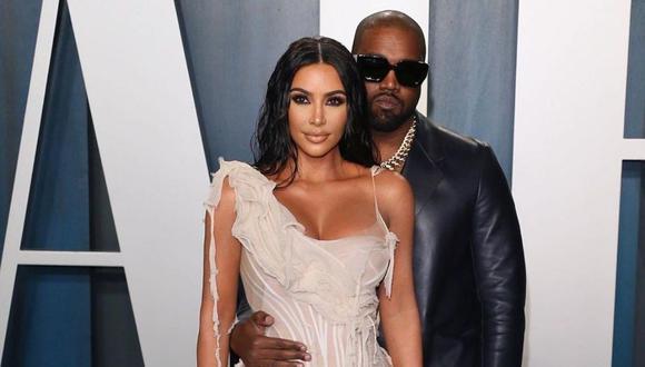 Kim Kardashian y Kanye West han tenido semanas tensas donde se pensó que podrían divorciarse. Ahora están en el Caribe. (Instagram: @kimkardashian).