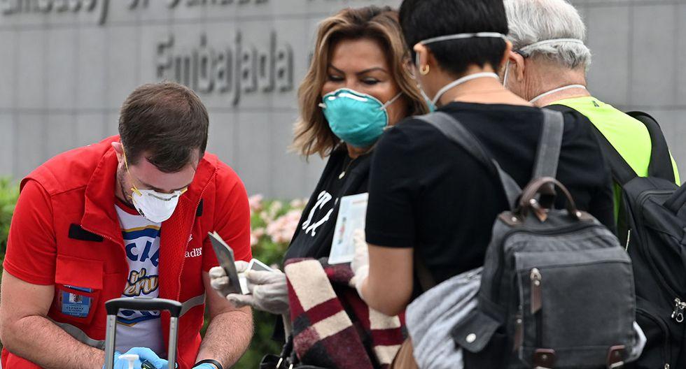 El coronavirus en Perú ha causado la muerte de 11 personas y 635 contagiados.  Sigue minuto a minuto cada incidencia de hoy, viernes 27 de marzo. (AFP)