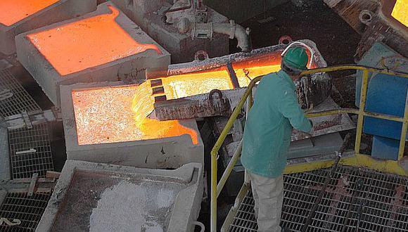 Producción de cobre se incrementó un 53,45% durante abril - 1