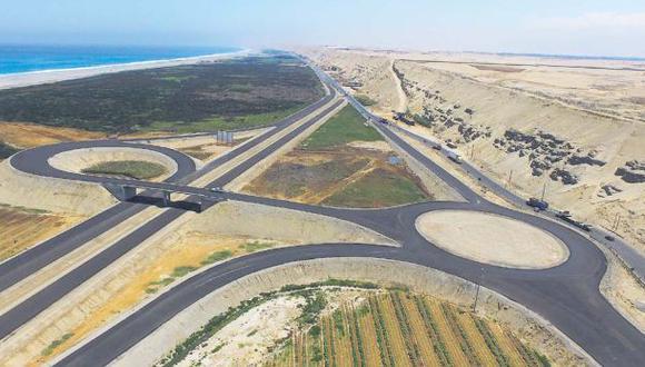 Autopista Chincha-Pisco está al 74% pero falta sanear terrenos - 1